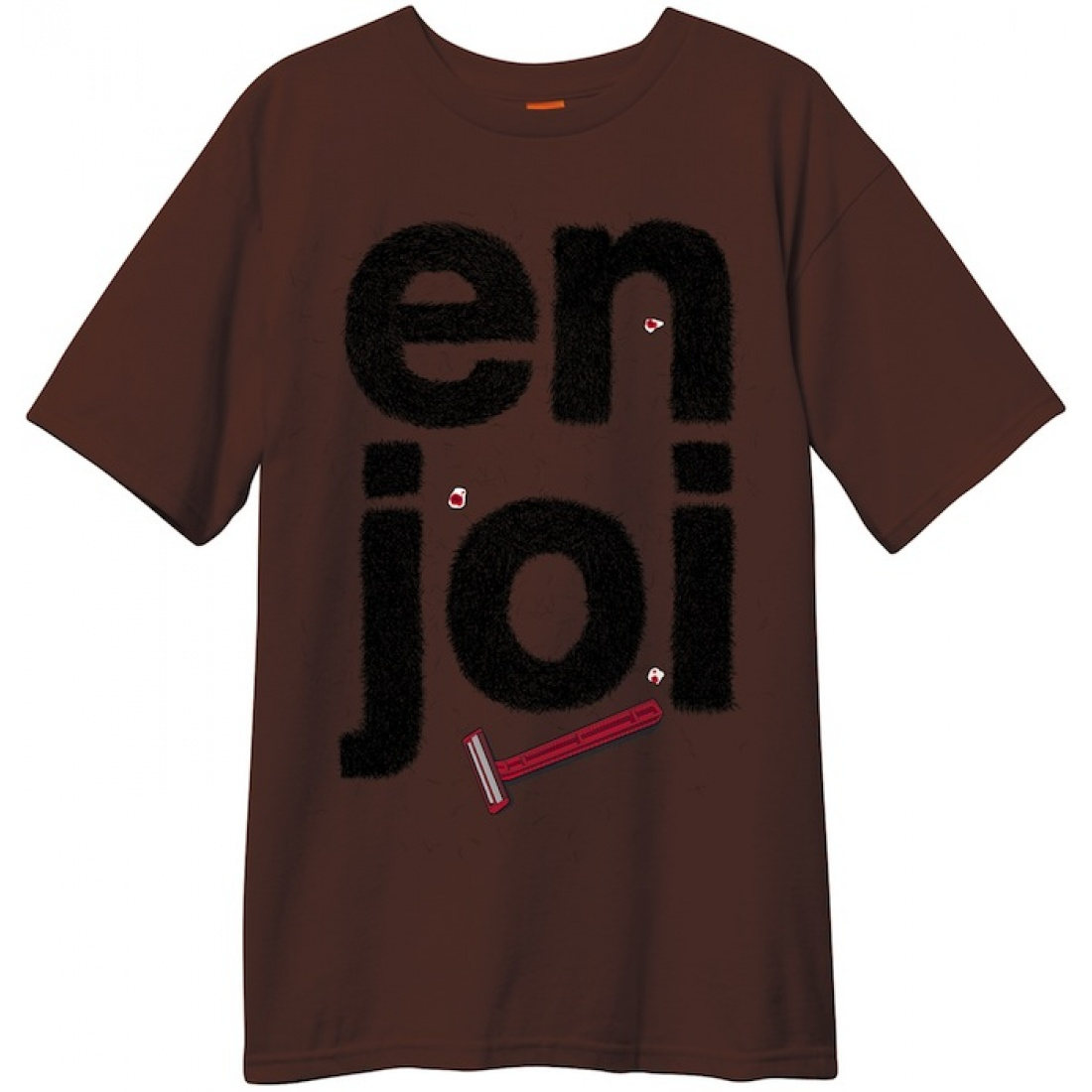 ENJ-Manscape Dark Chocolate Tee