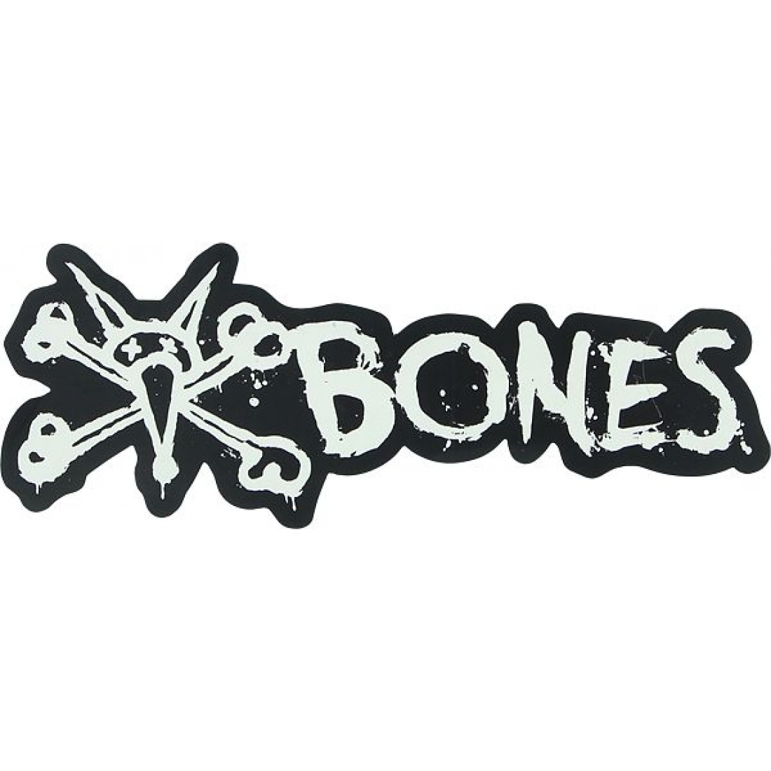 "BONES WHEELS Vato Text 6"" Sticker (1 Sticker)"