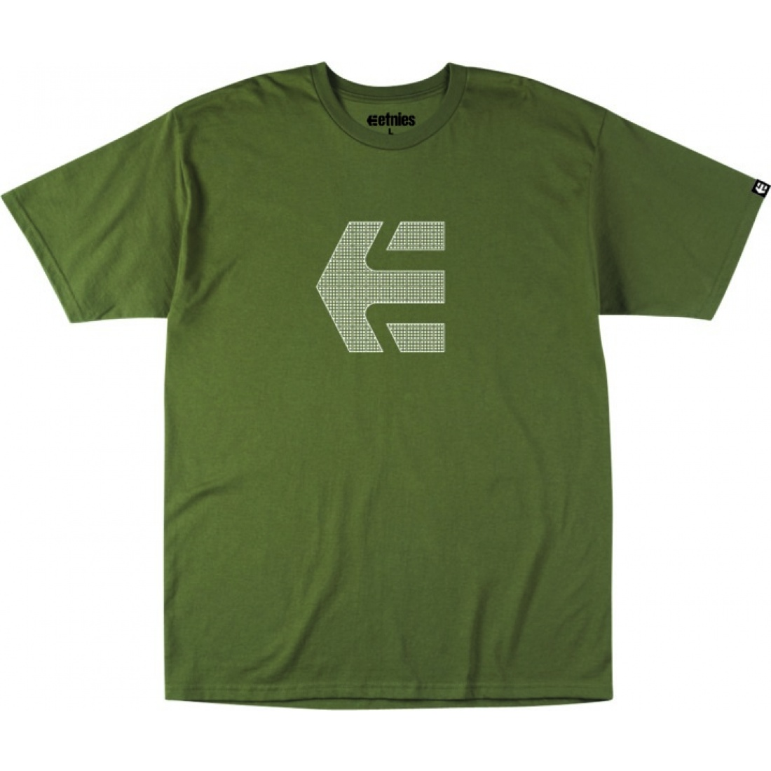 ETN-Icon Grid T-Shirt Military