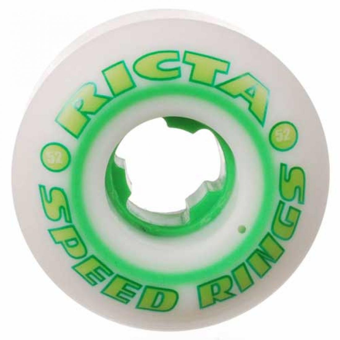 RCA-Speedrings 81b White/Green 52mm (Set of 4)