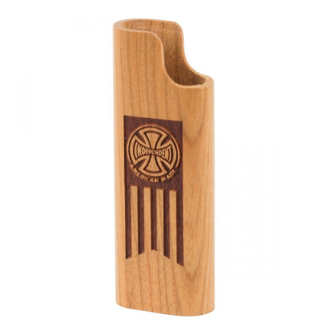 IND-AM Lighter Cover Cherrywood OS Unisex