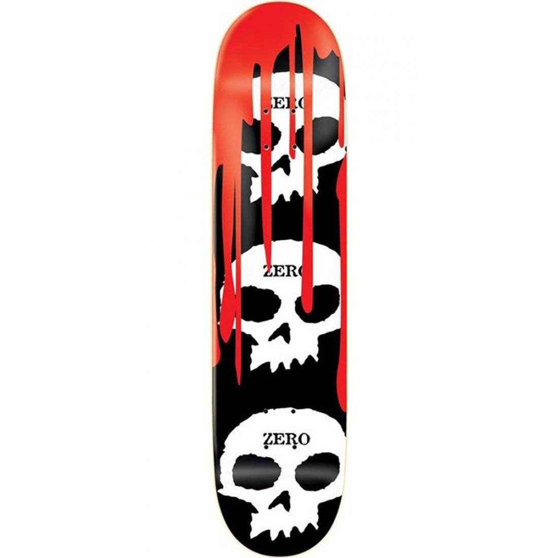 ZER-3 Skull Blood Black R7 8.125 Deck