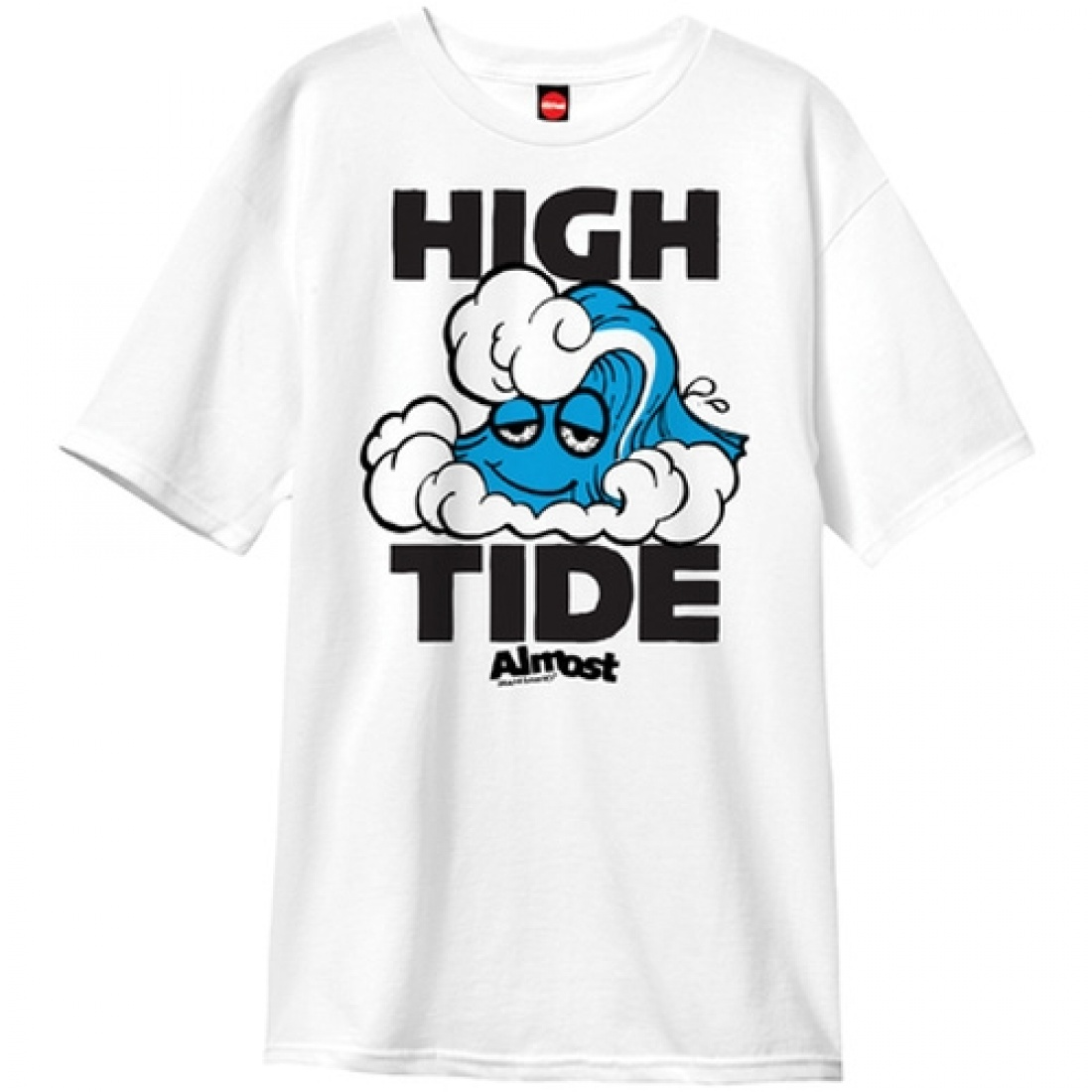 ALM-High Tide 2.0 White Tee