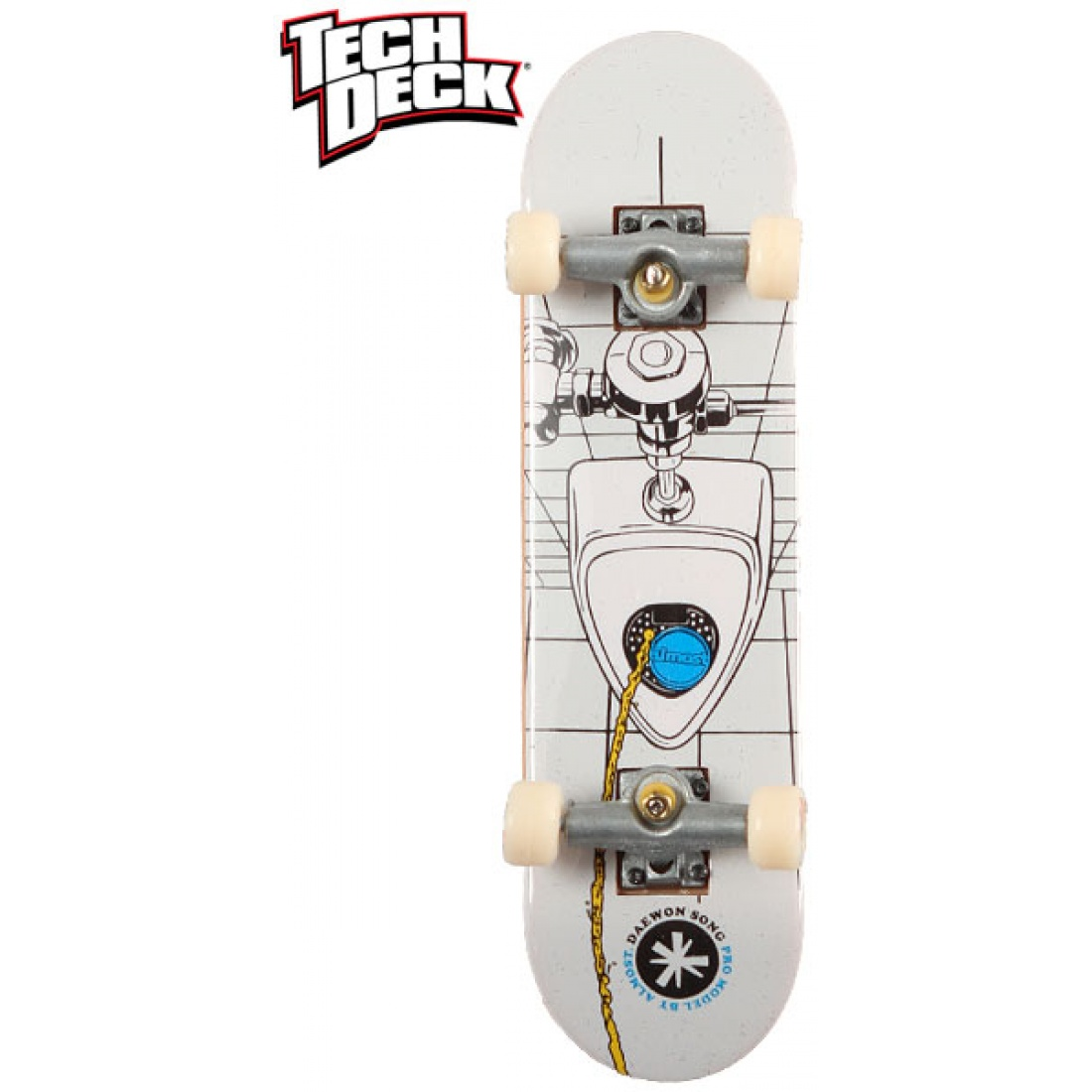 ALM- Daewon Song Down The Pisser Tech Deck