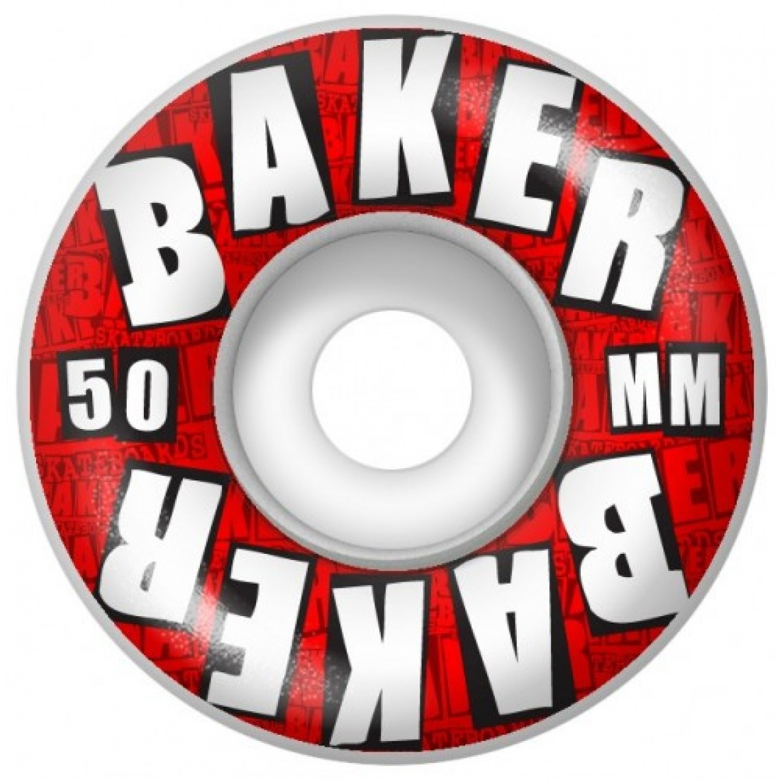 BKR-Blocks Red 50mm Wheels