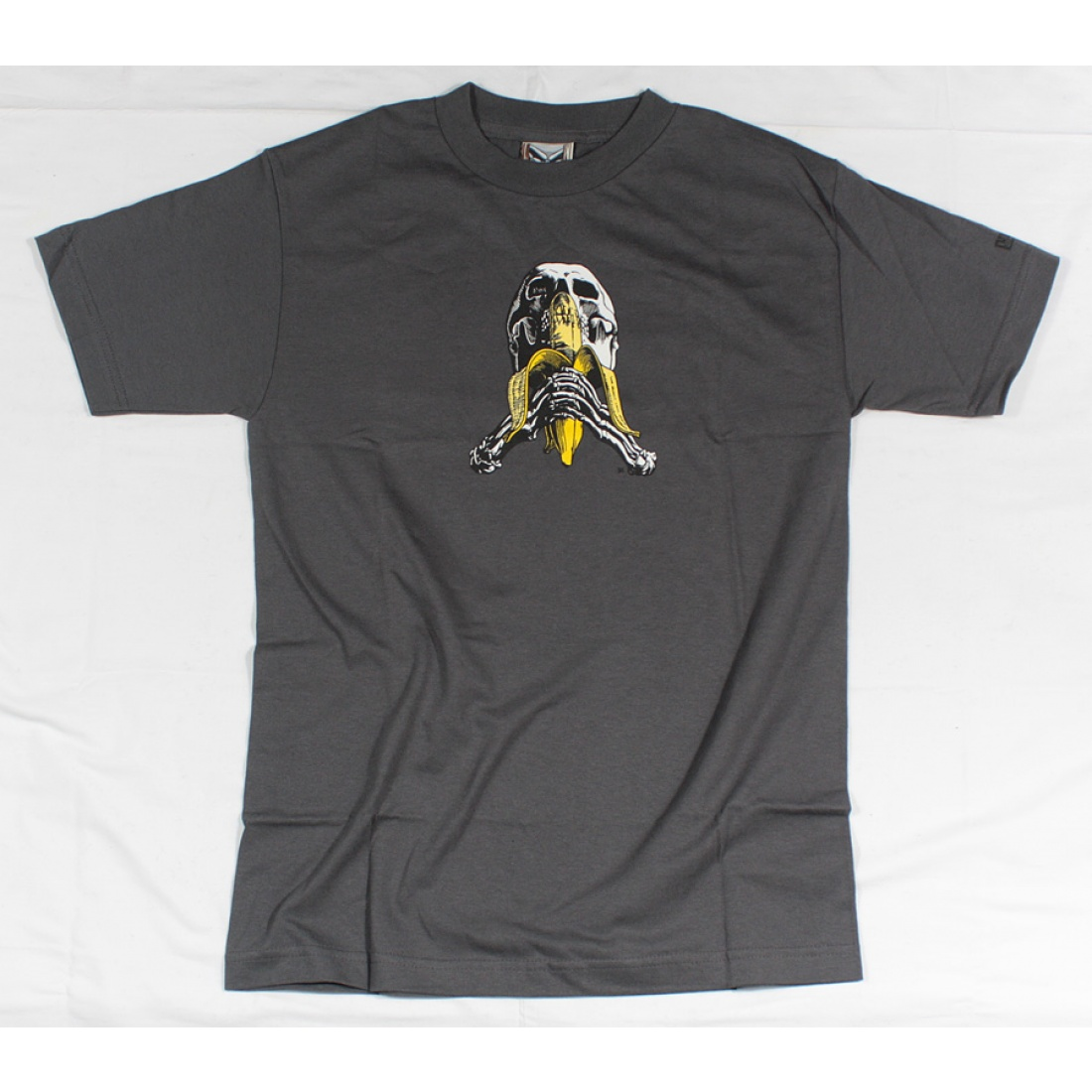 BLD-Skull Banana t-shirt Charcoal Small