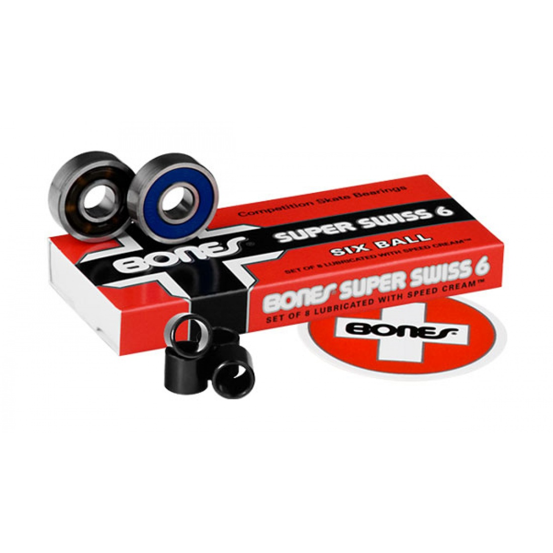 Bones Super Swiss 6 Balls Bearings