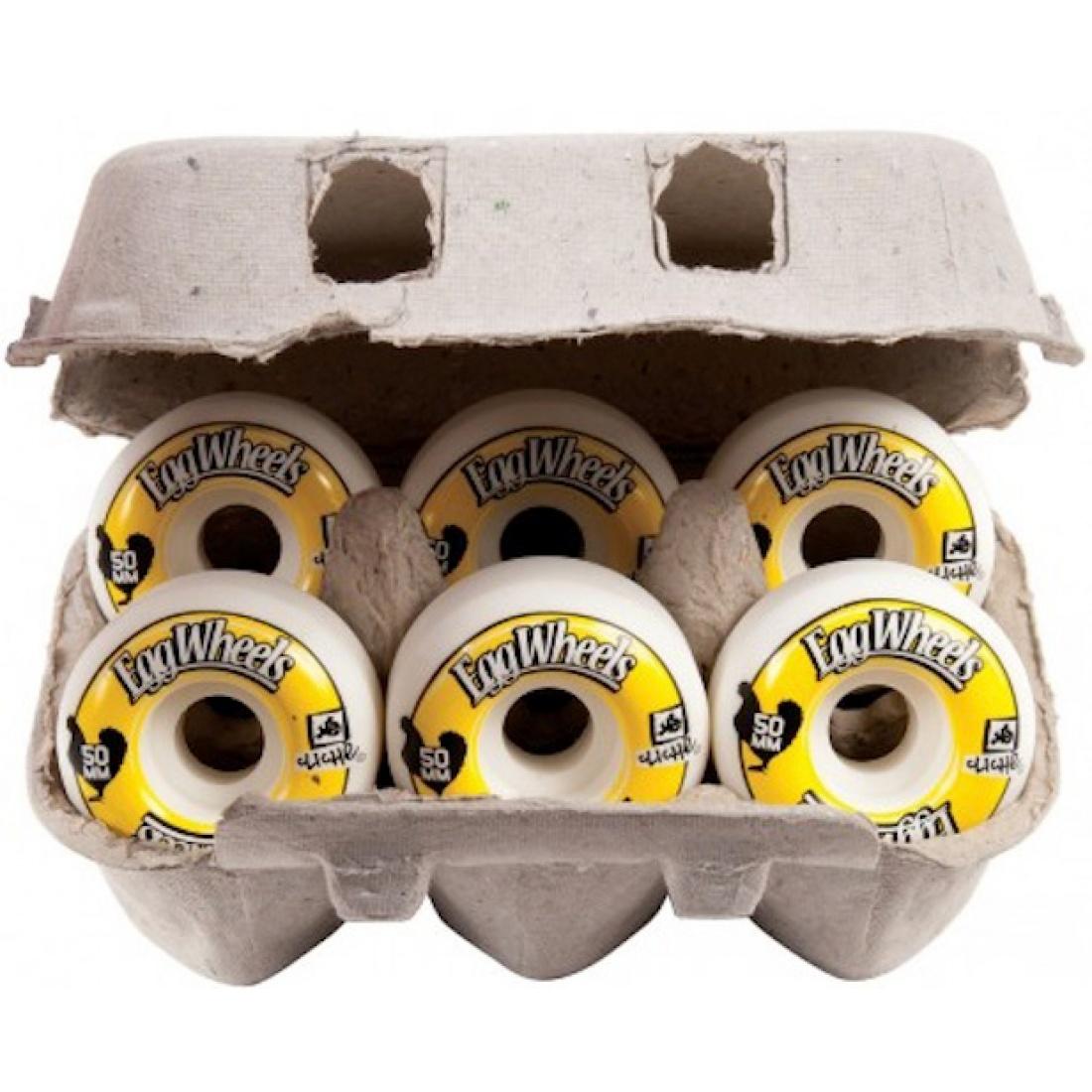 CLE-Egg Carton 50MM Wheels (set of 6)