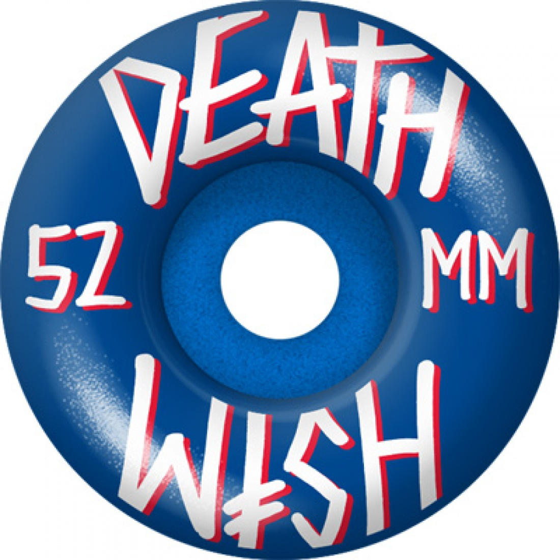 DTH-Stacked Blue/White/Red 52mm Wheels