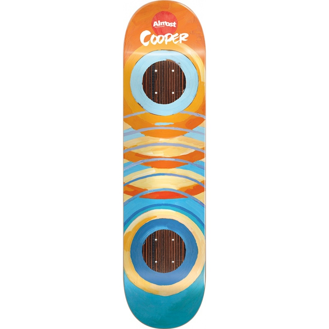 ALM-Lotti Painted Rings Impact Cooper Wilt 8.25 Deck