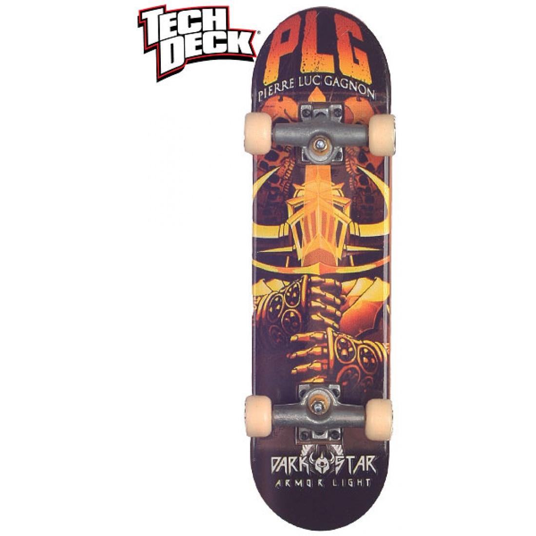 DST- PLG Tribute Orange Tech Deck