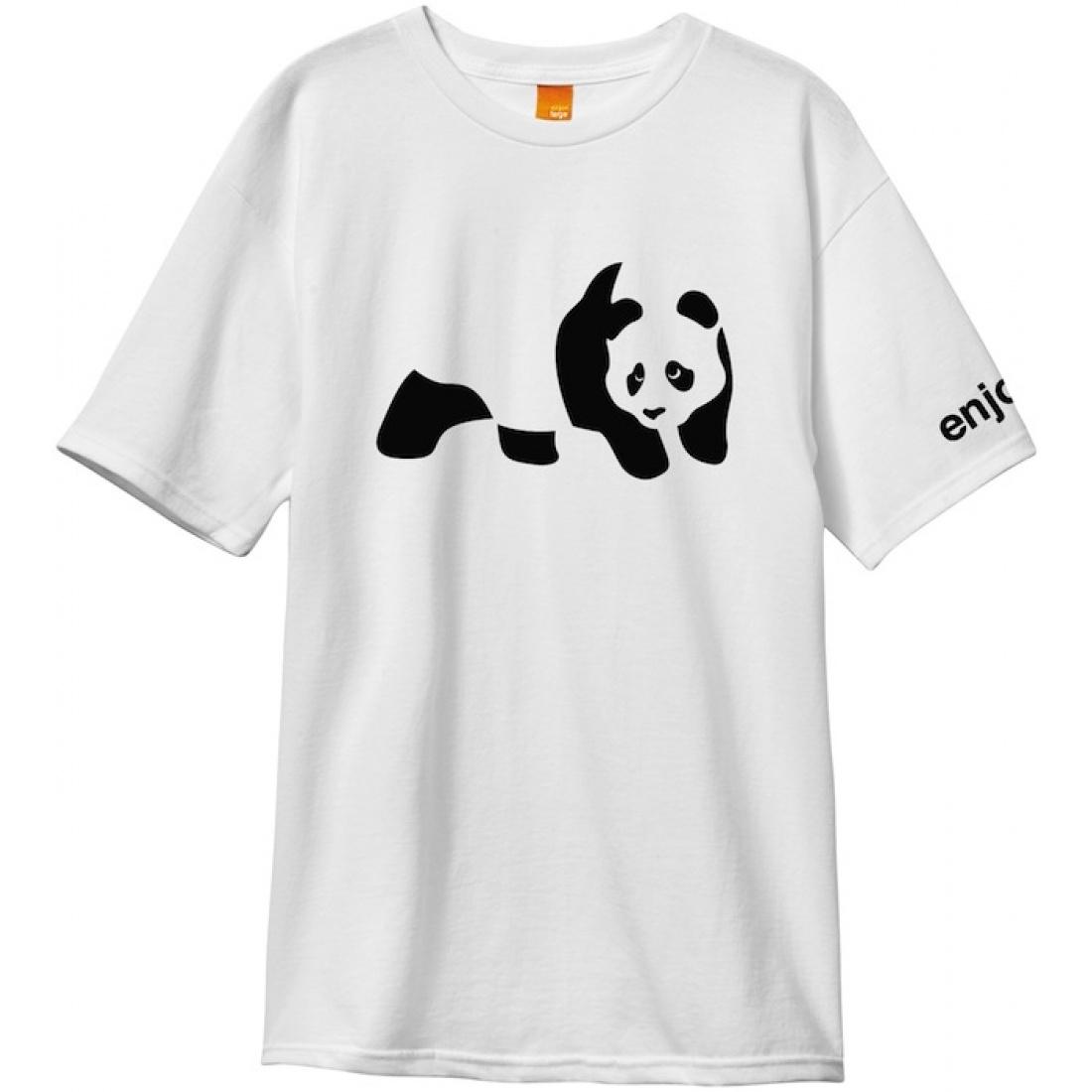 ENJ-Panda White Tee