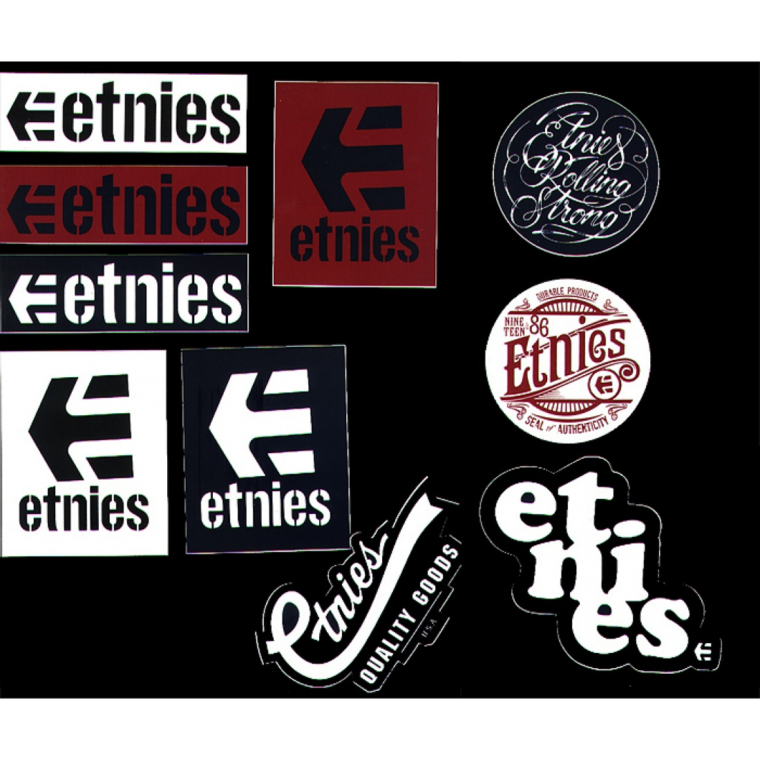 ETN-Medium Assorted Stickers (1 sticker)