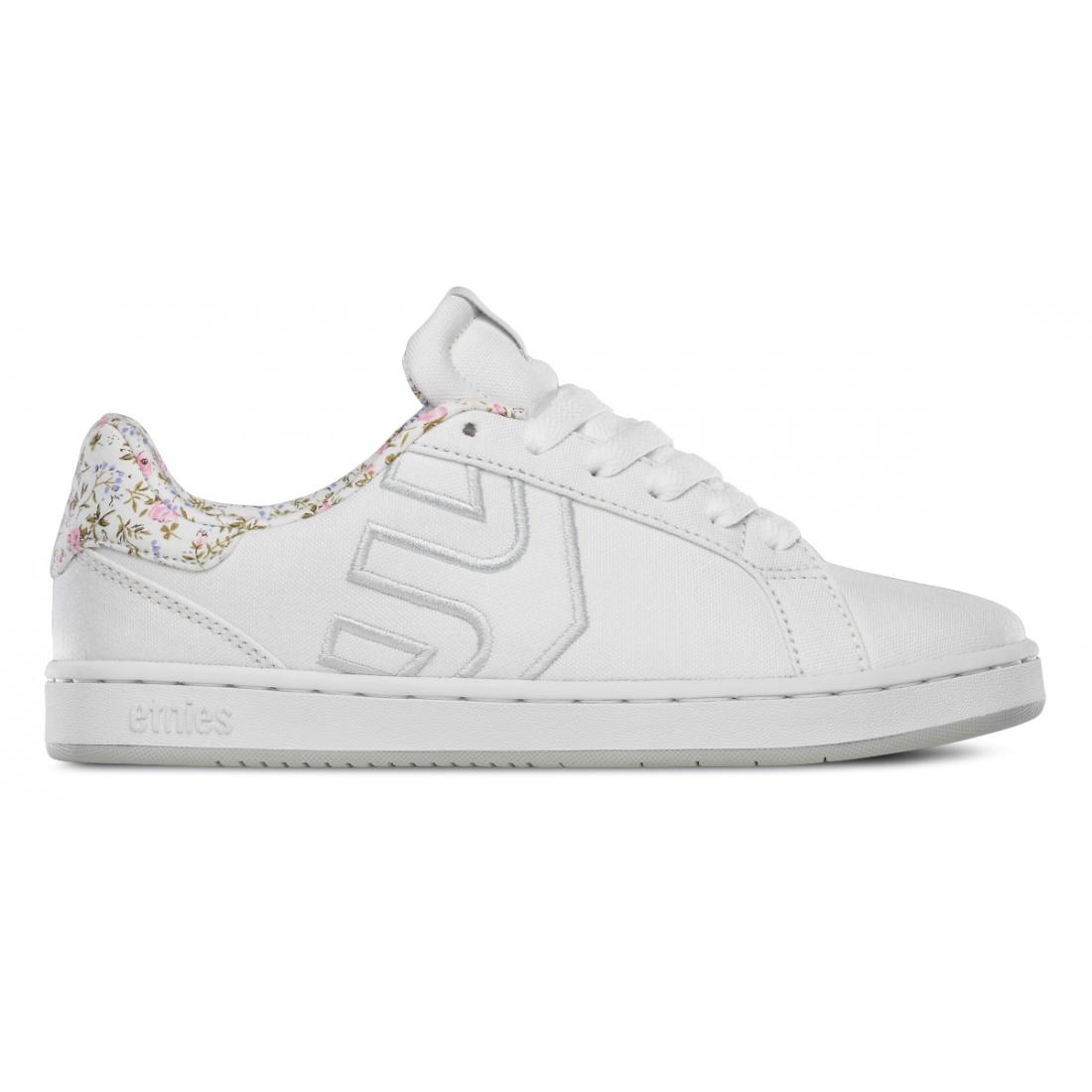ETN-Fader LS White/White/Light Grey Girls Shoes