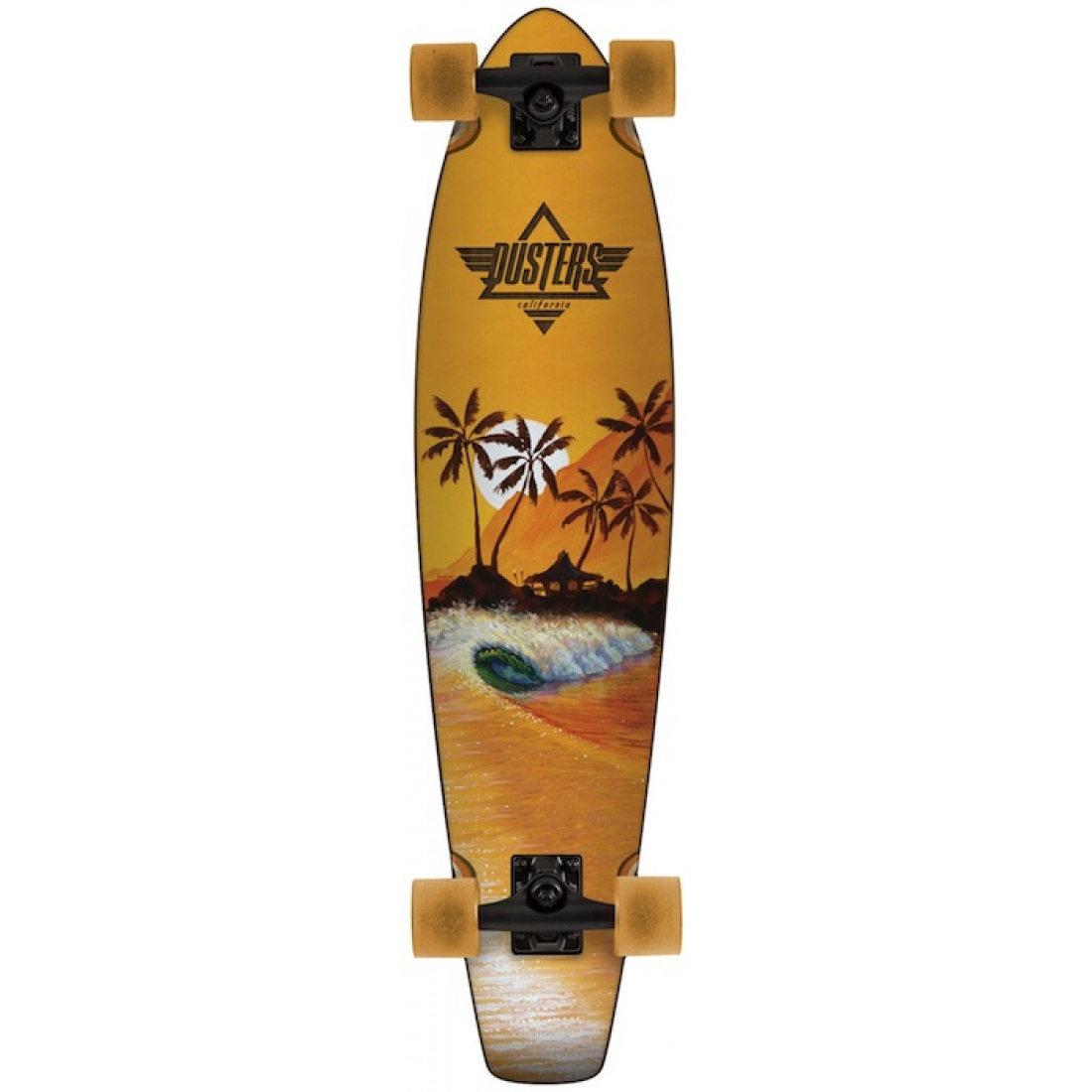 DUS-Happy Hour Orange 36 Longboard