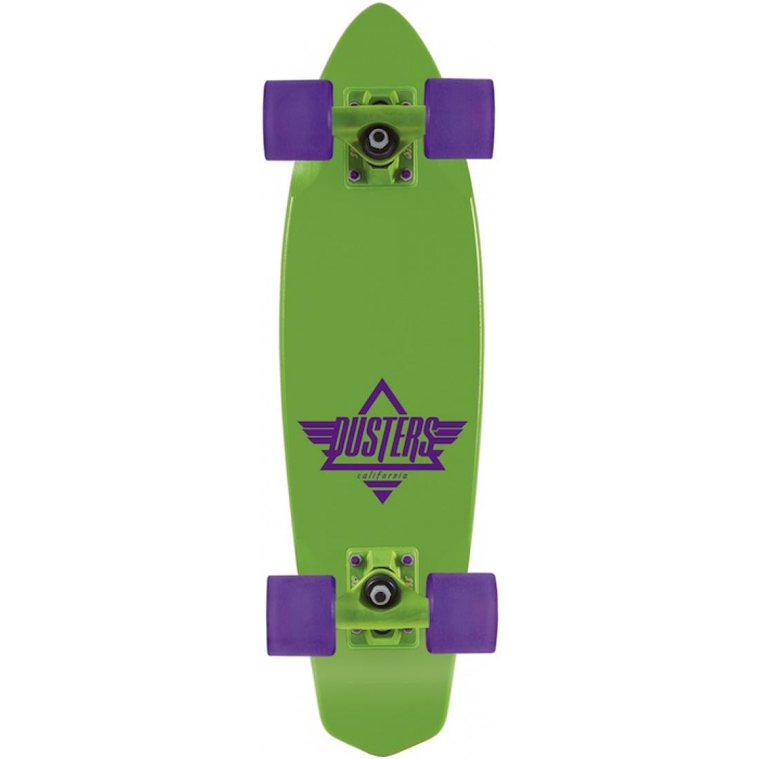 "DUS-Ace Cruiser Neon Green/Purple 24"" Cruiser"