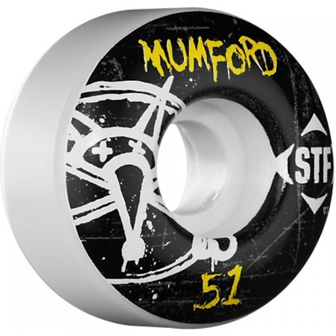 Bones Mumford Oh Gee Streettech 51MM Wheels (Set of 4)
