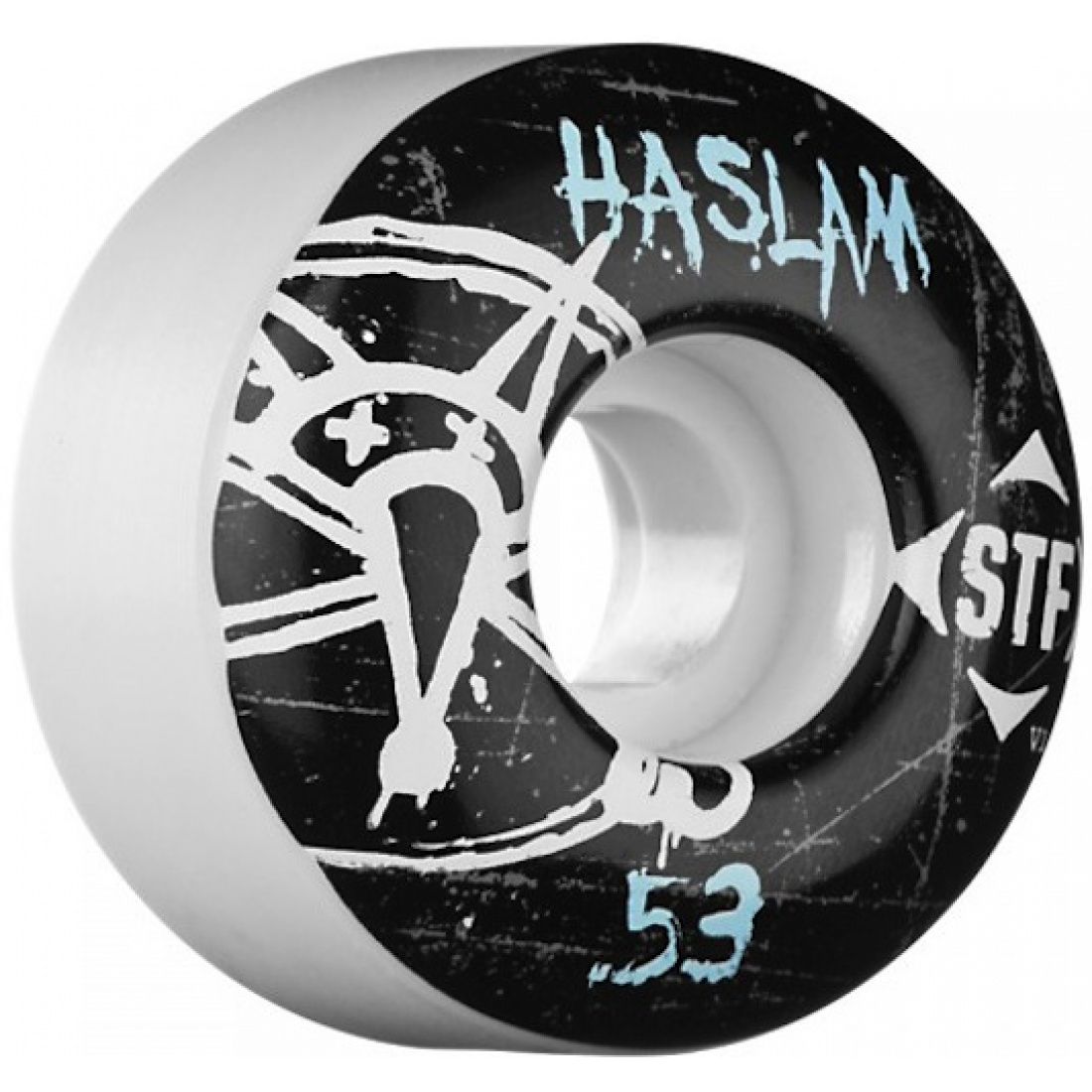 Bones Haslam Oh Gee Streettech 53MM Wheels (Set of 4) (Set of 4)