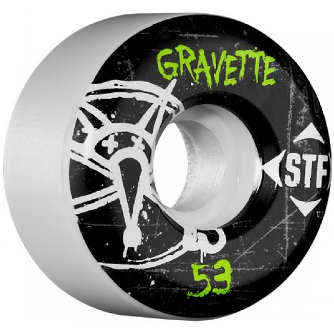 Bones Gravette Oh Gee Streettech 53MM Wheels (Set of 4)