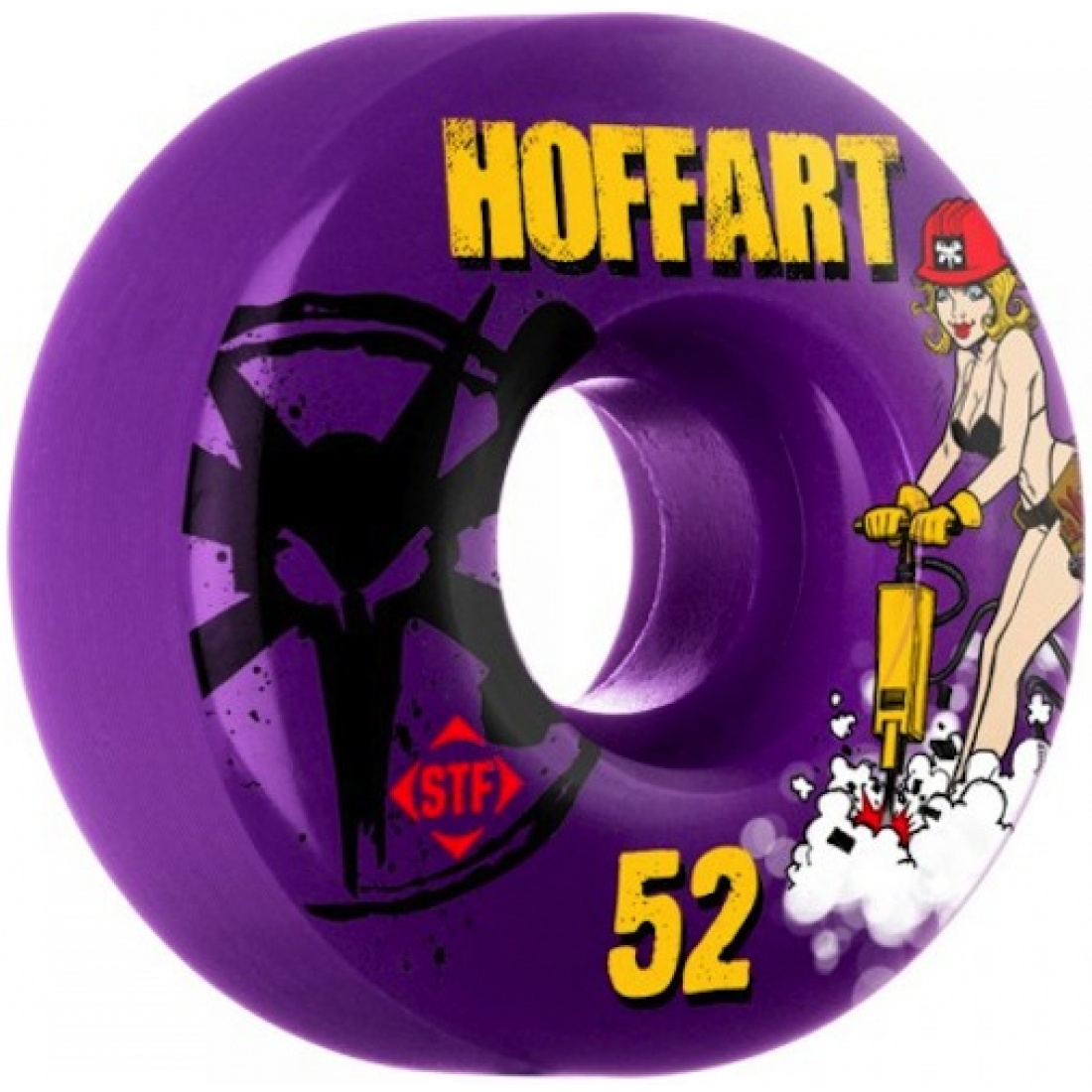Bones Hoffart Jack Hoff Purple Streettech 52MM Wheels (Set of 4)