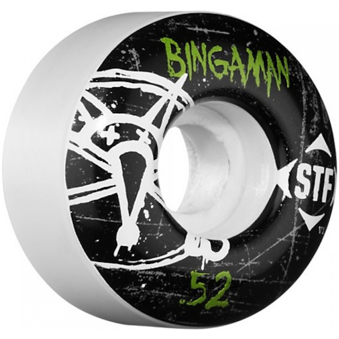 Bones Bingaman Oh Gee Streettech 52MM Wheels (Set of 4)