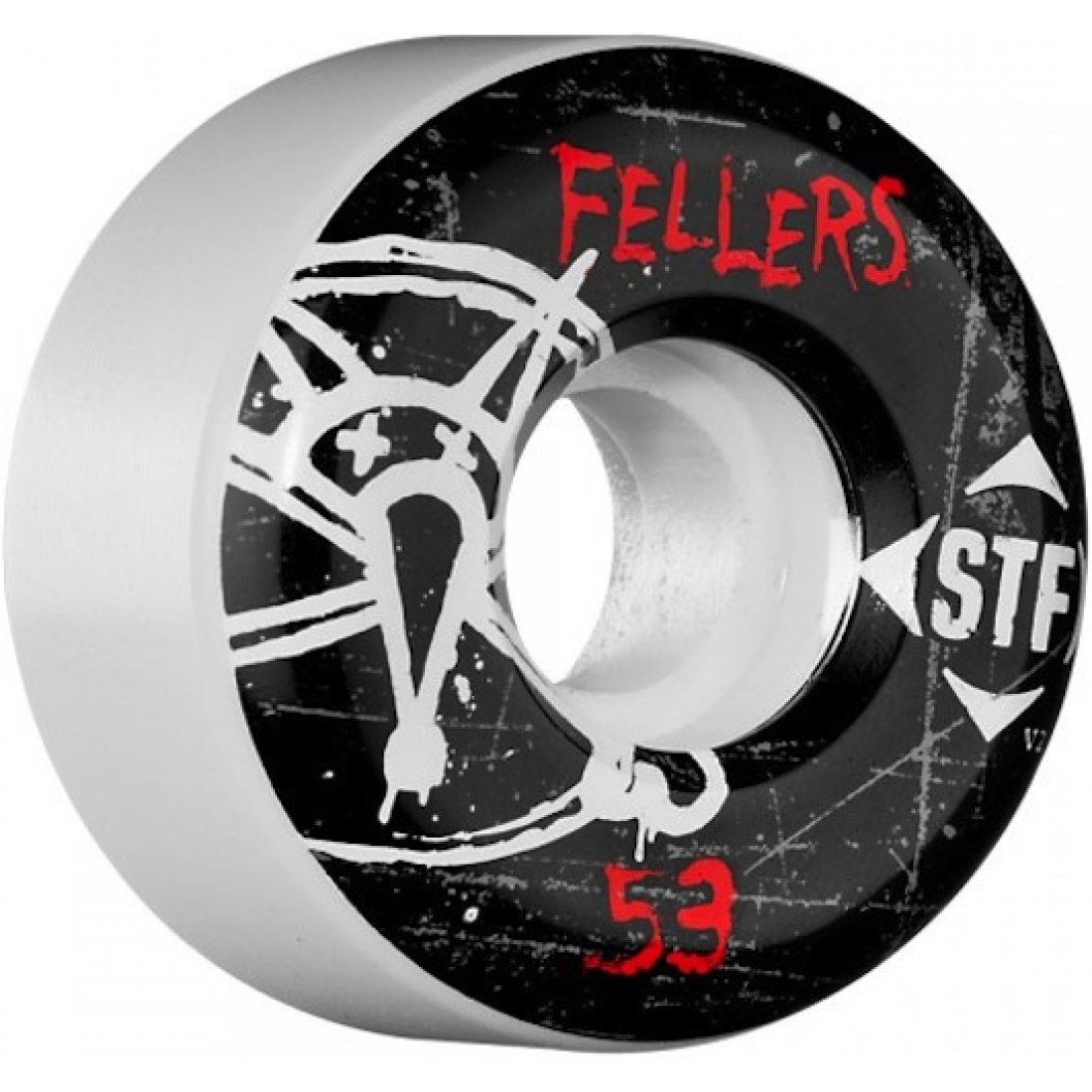 Bones Fellers Oh Gee Streettech 53MM Wheels (Set of 4)
