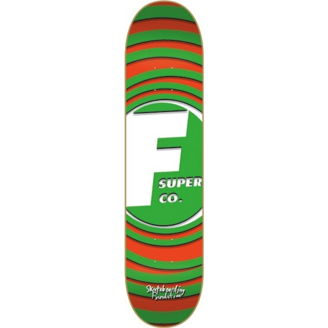 FS-Super Rings Green 8.1 Deck