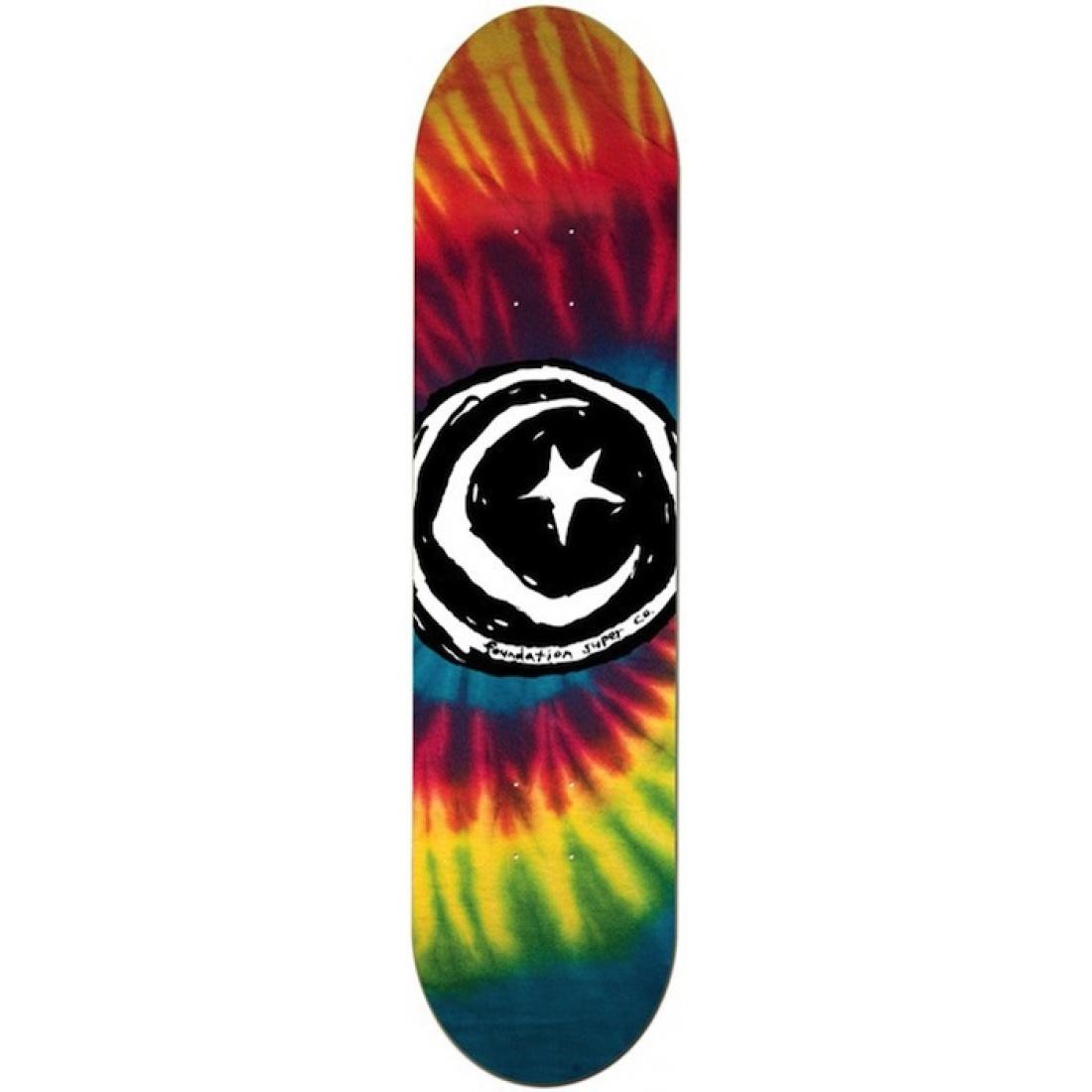 FS-Star & Moon Tye Dye Fiberprime 8.25 Deck