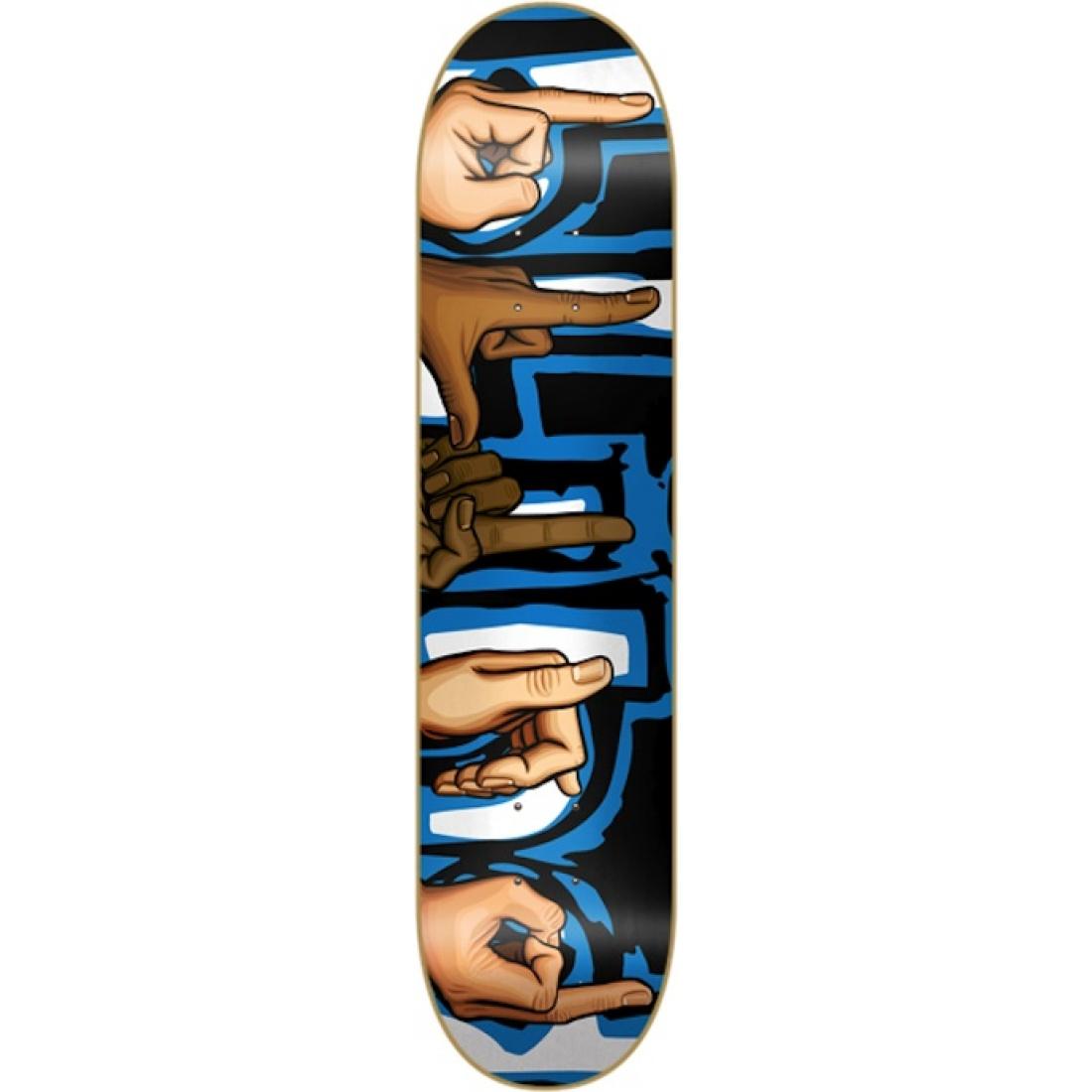 BLD-Signs Super Saver Black/Blue 7.9 Deck