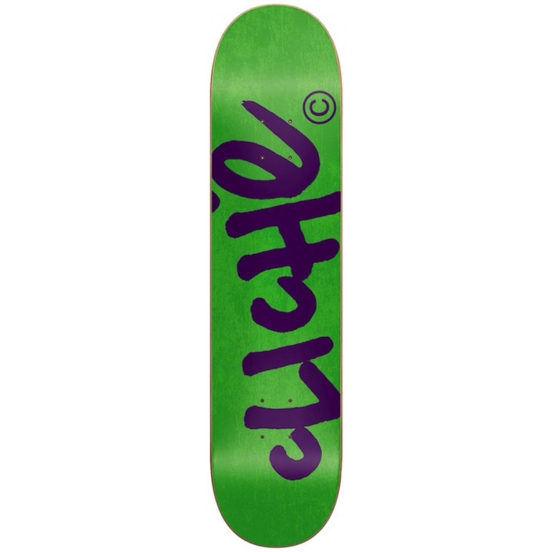 CLE-Handwritten R7 Fluorescent Green/Purple 7.8 Deck