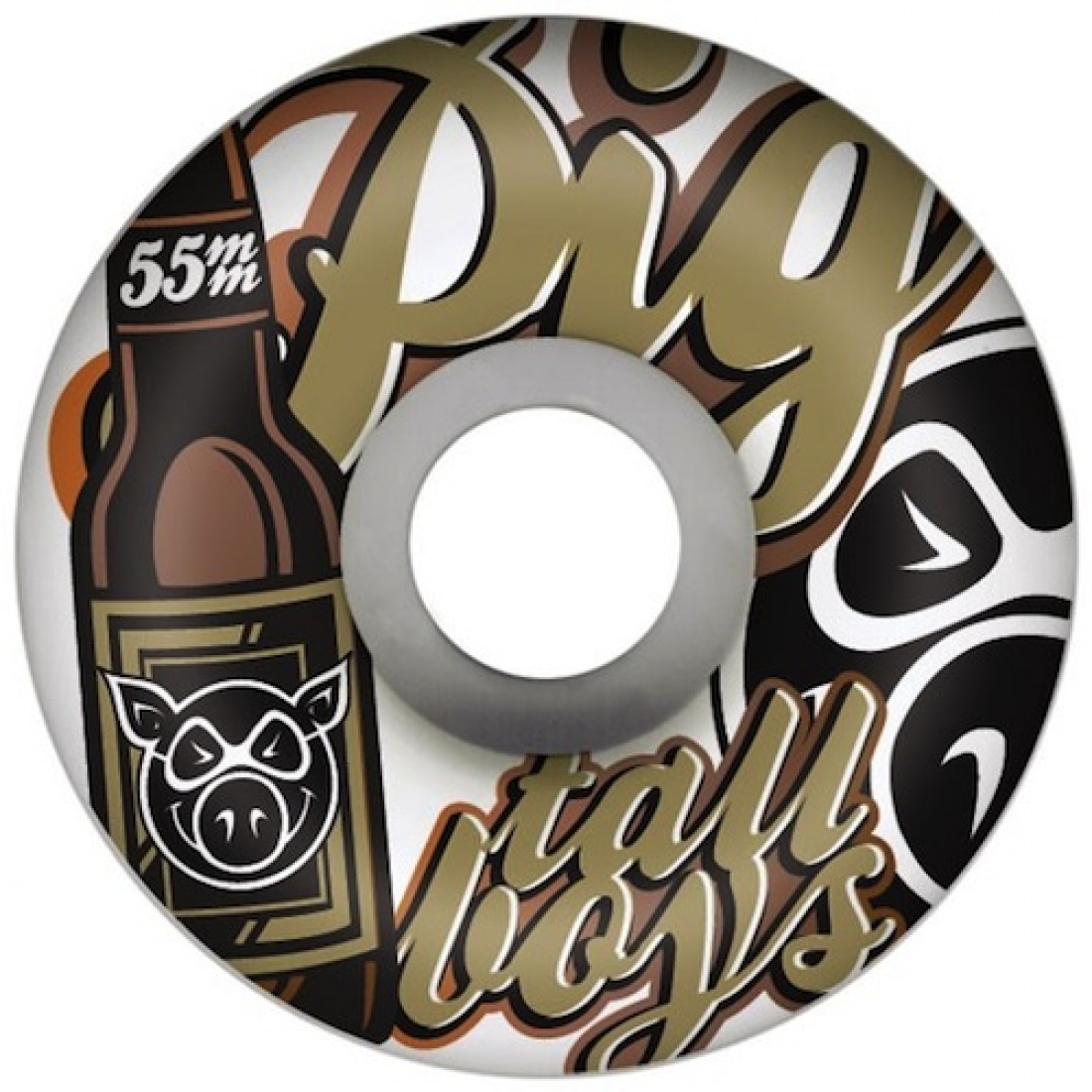 PIG-Tallboys 55MM Wheels (Set of 4)