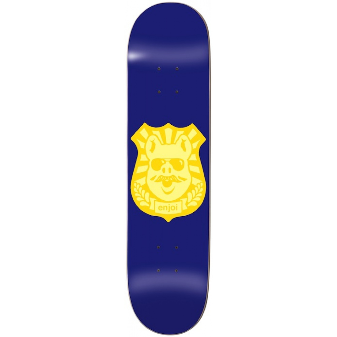 ENJ-Pig Badge R7 Blue/Yellow 8.1 Deck