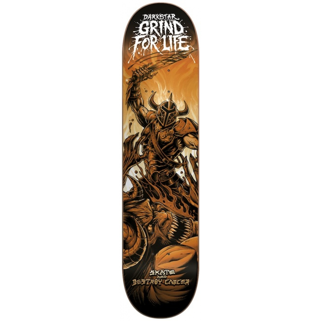 DST-Grind For Life R7 Orange 8.0 Deck