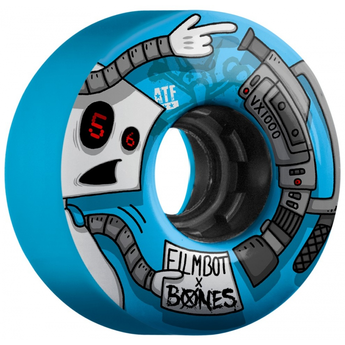 Bones FilmBot III 56mm Blue wheels