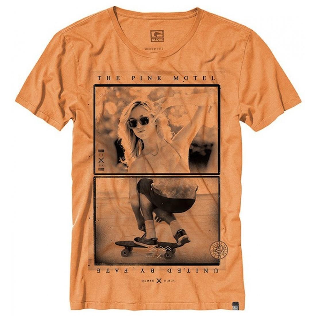 Globe Bamtam Girl Tangerine Tee