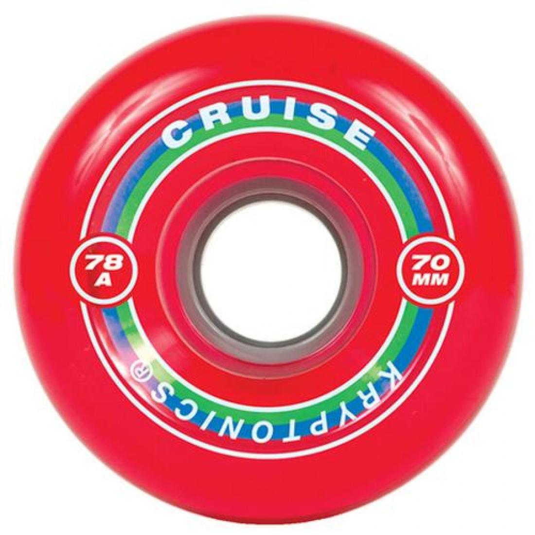 KRY-Cruise Wheels Red 70mm