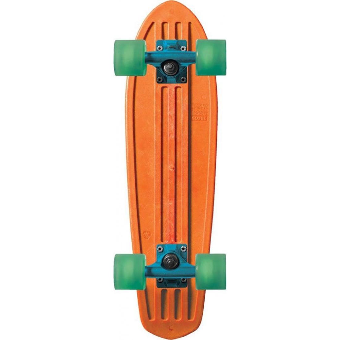 GLB-Bantam Orange Horizon Clear Green 24 Mash Ups