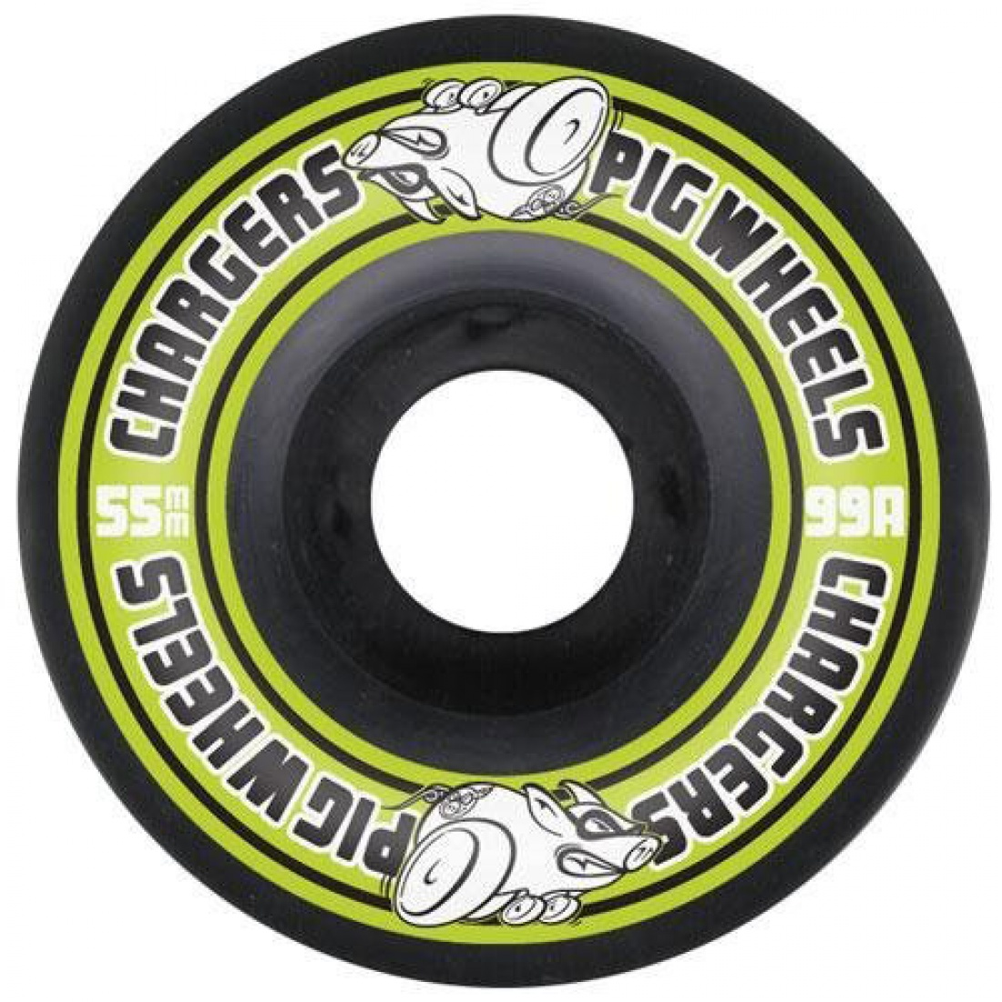 PIG-Charges II Green 55MM Wheels (Set of 4)