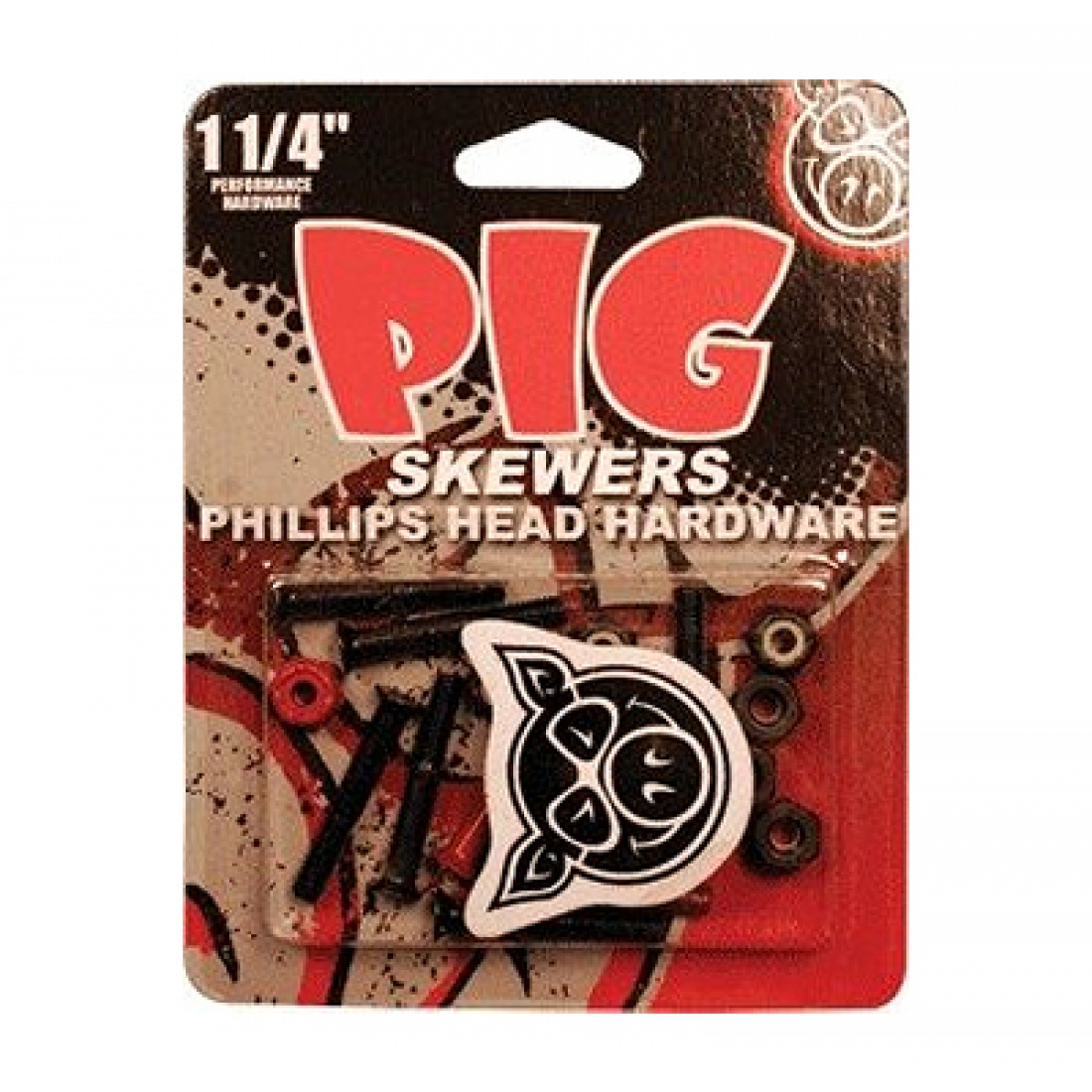 "PIG-Skewers Allen 1 1/4"" Hardware (Set of 8)"