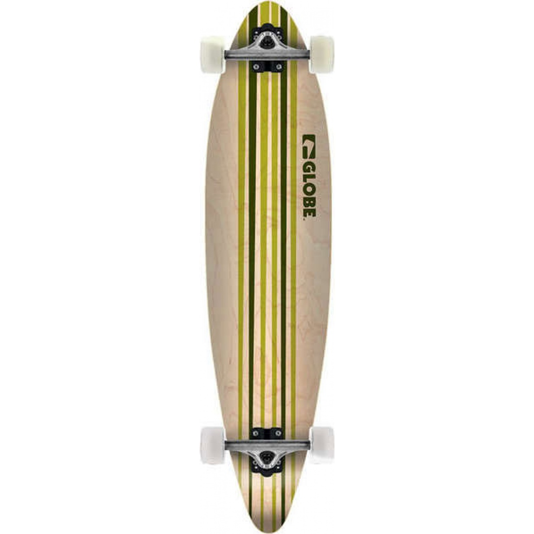 GLB-Pinner Green/White 41 Longboard