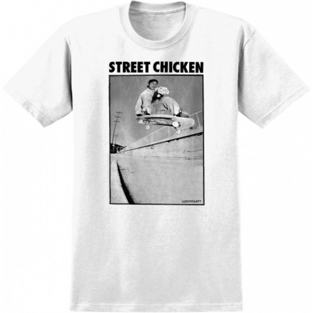 RL-TG Street Chicken White Tee