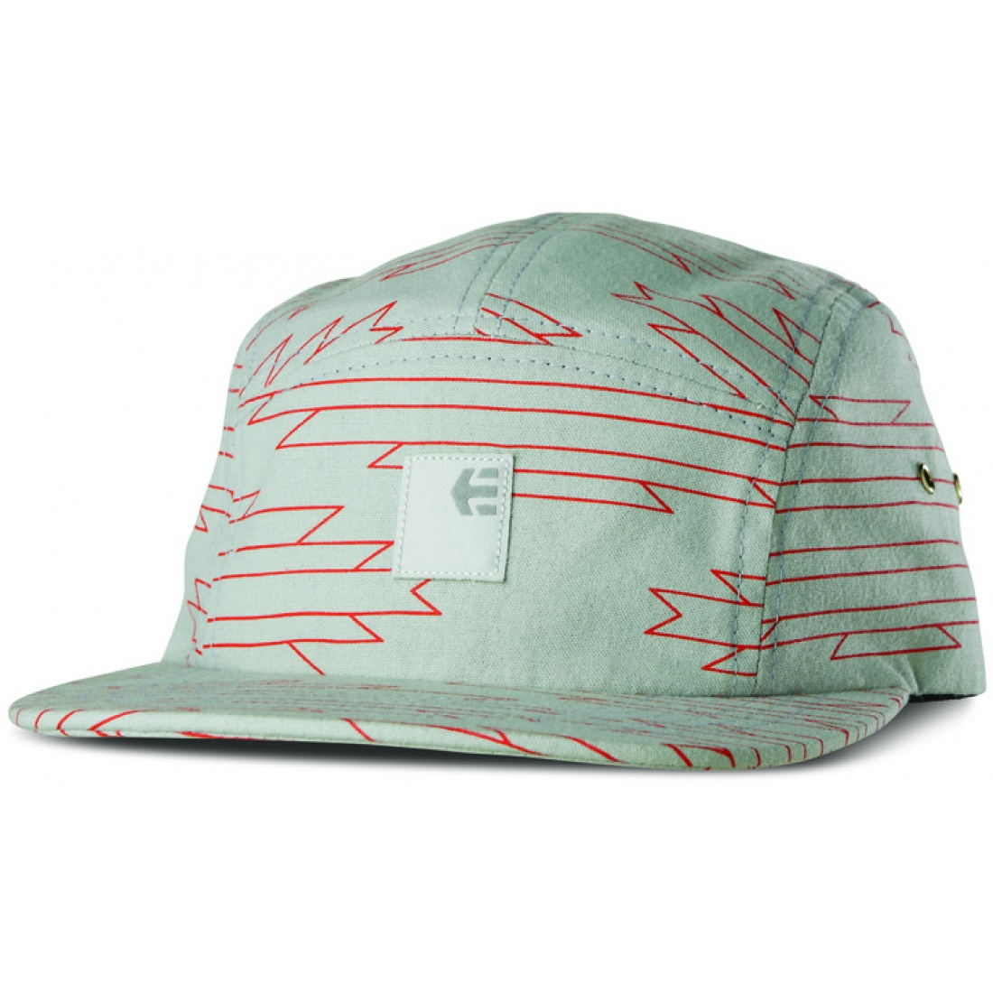 ETN-Reservations 5 Panel Arctic Blue Hat