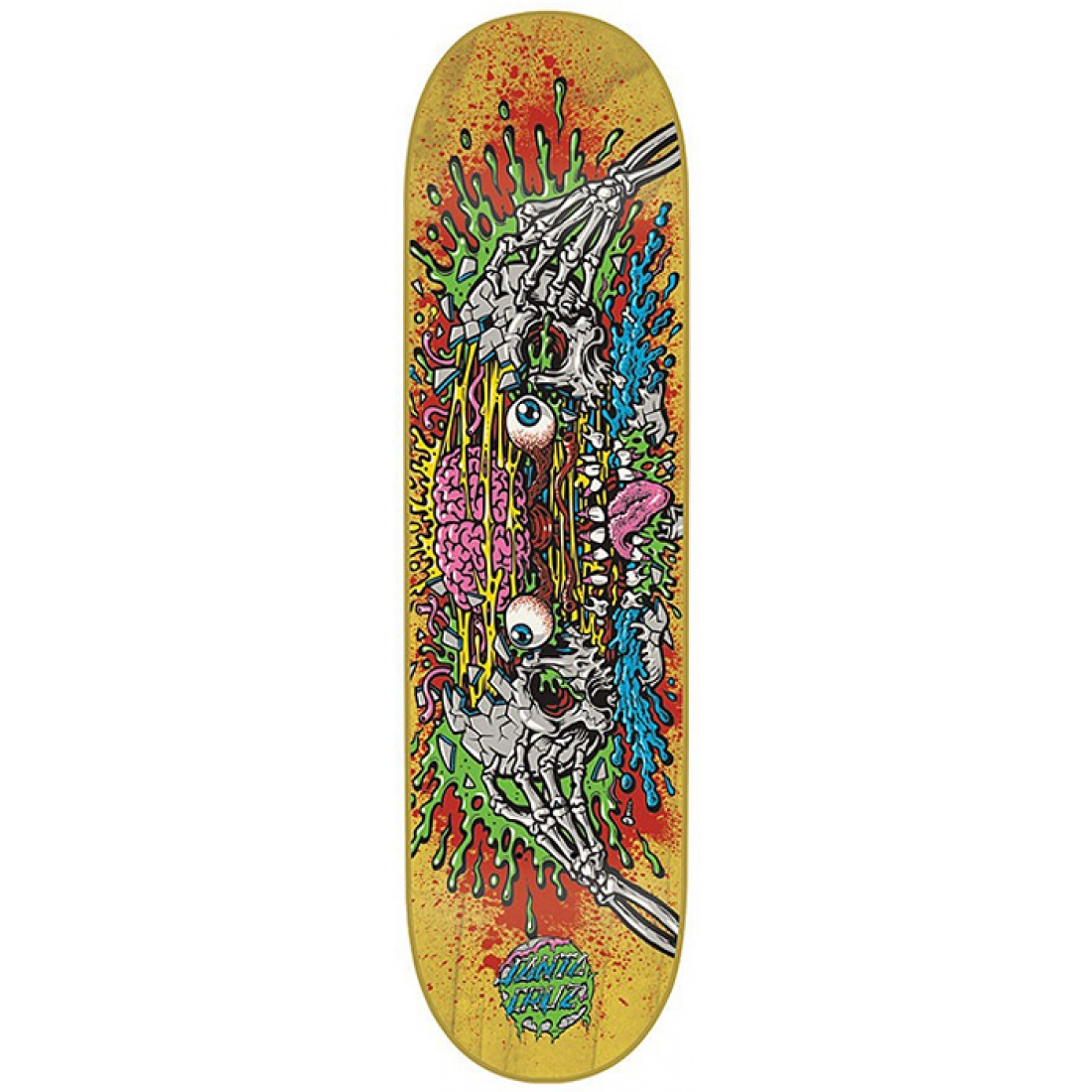 SCZ-Phillips Facial II Yellow Powerply 7.8 Deck