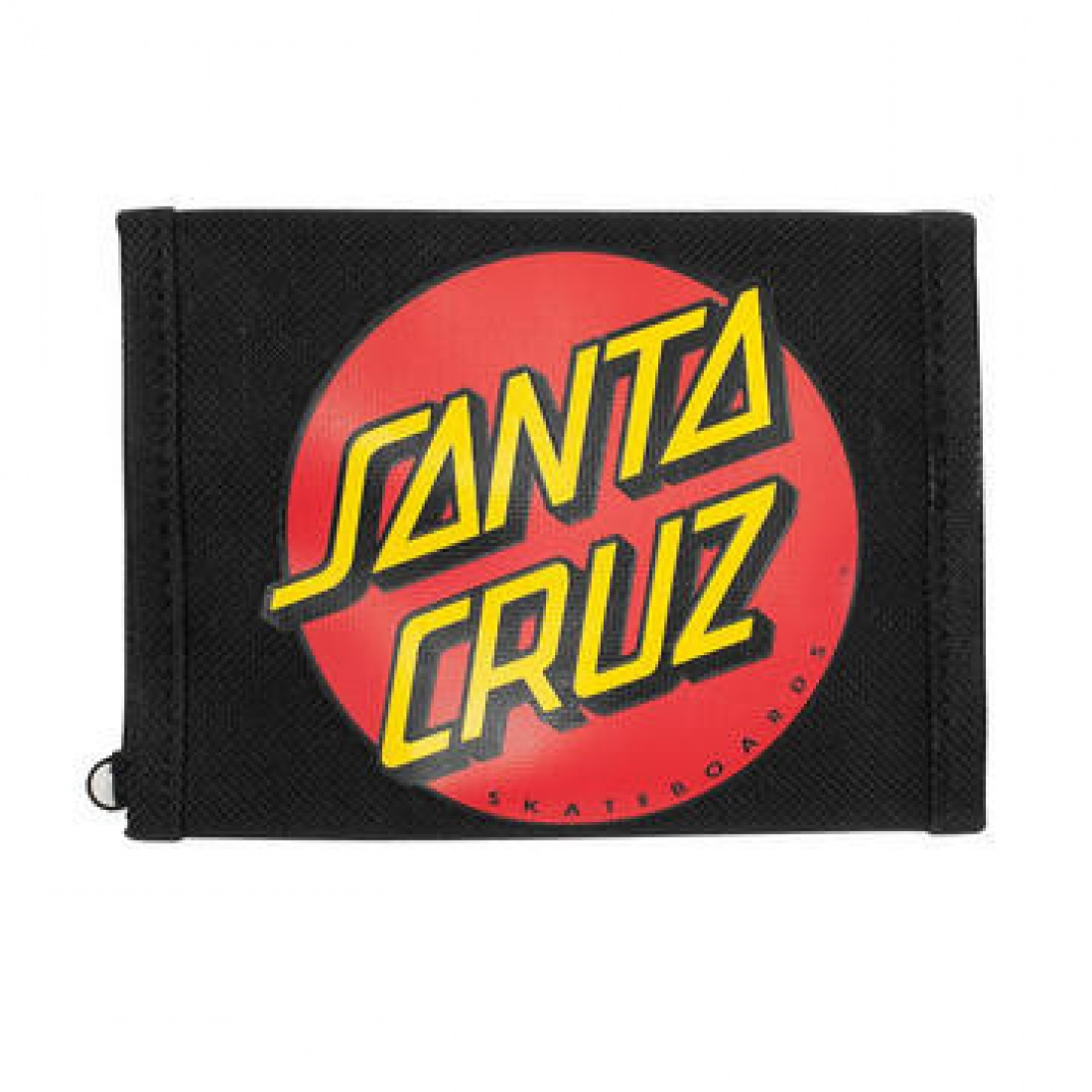 SCZ-Classic Dot Tri-Fold Wallet Black OS Unisex