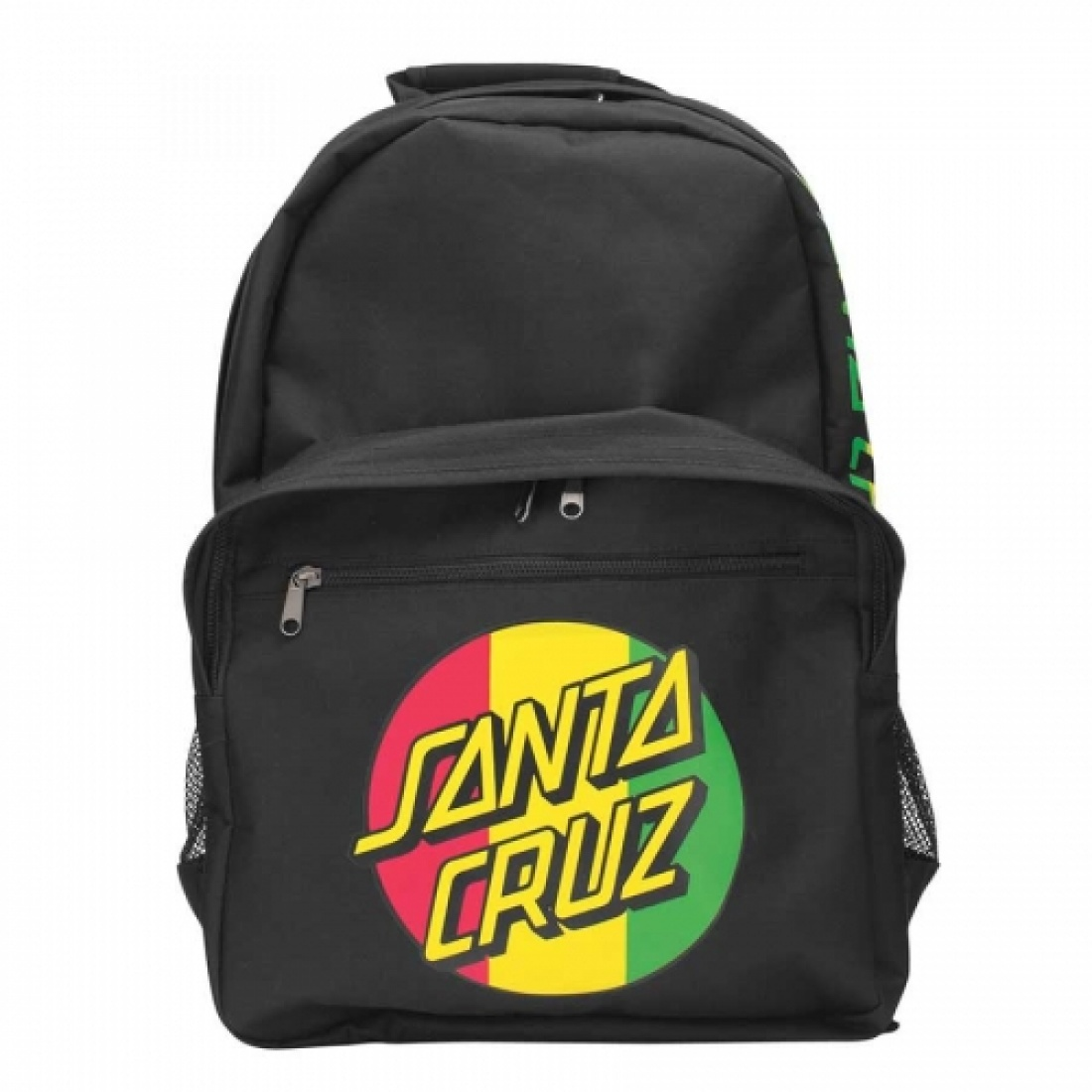 SCZ-Rasta Dot Backpack Black 12.75Wx17.5Hx7.5D Mens