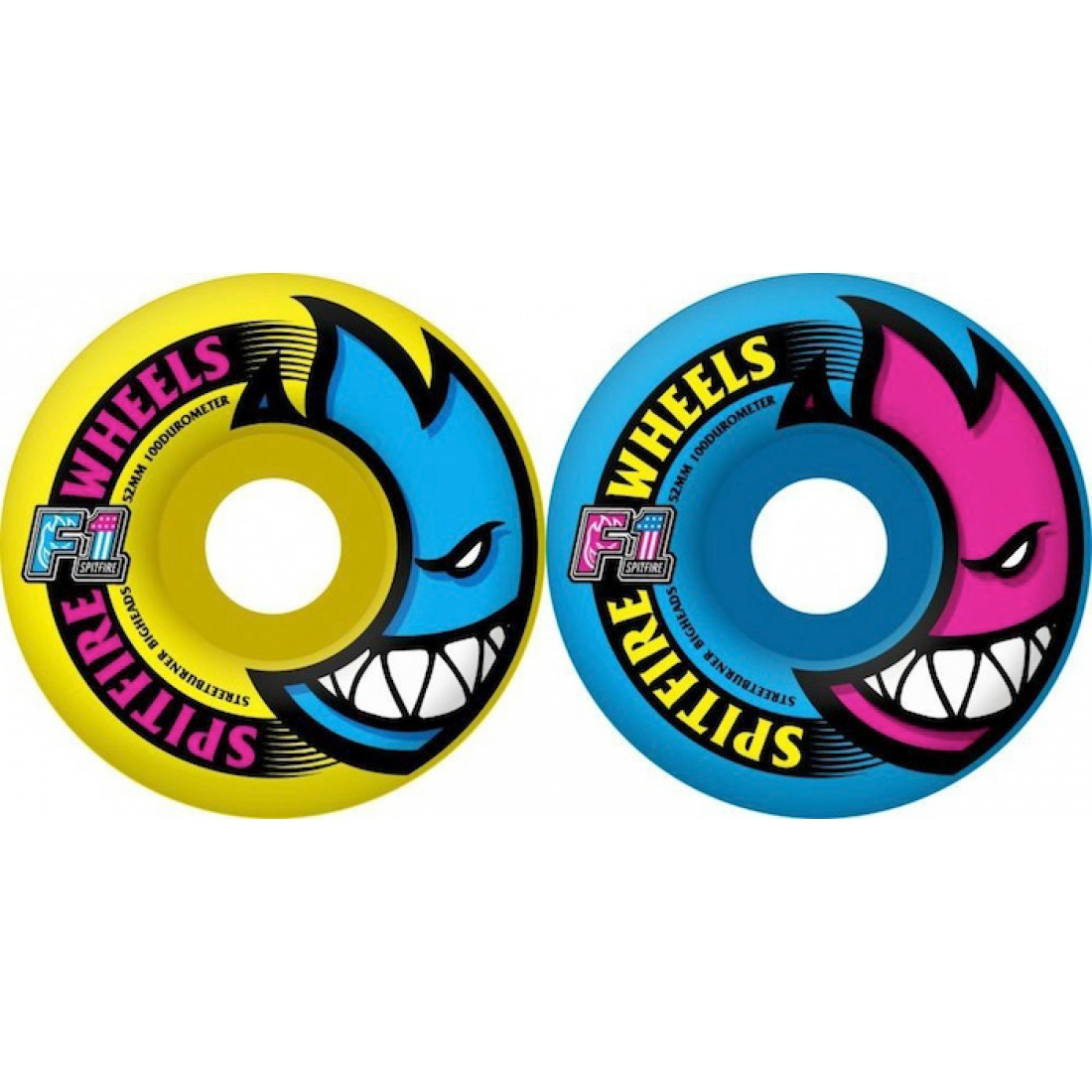 SF-F1SB Bighead New Wave Msh 52MM Wheels (Set of 4)