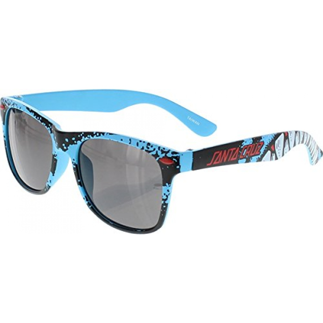 SCZ-Retro Shark Sunglasses Blue OS Unisex