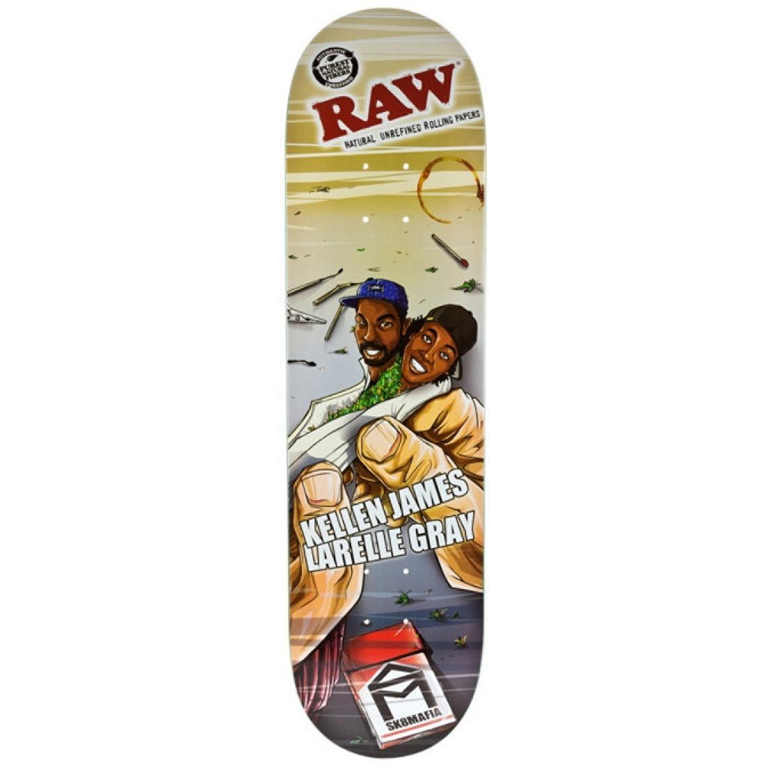 SM-Raw James/Gray 8.25 Deck
