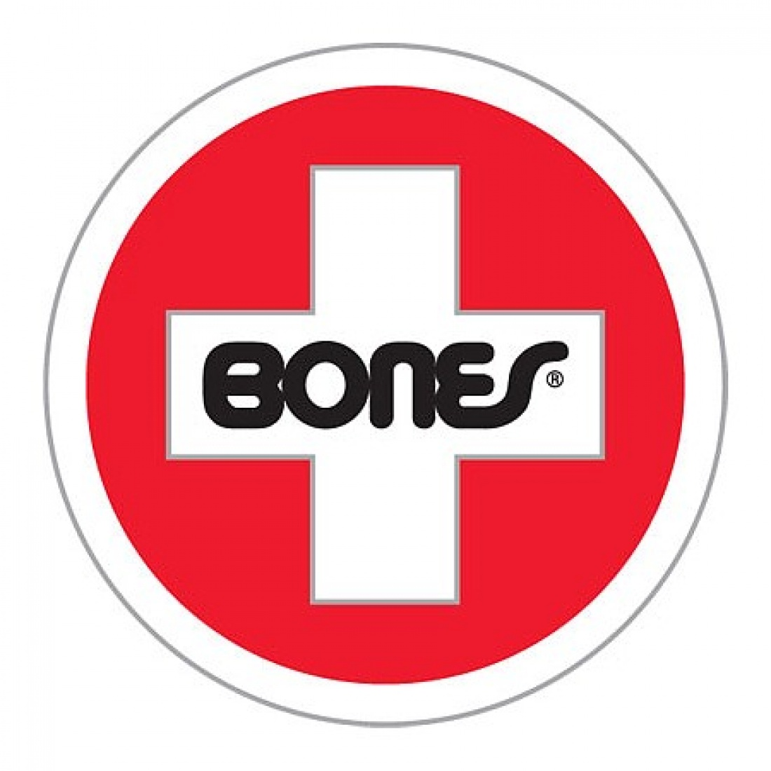 Bones Bearings Swiss Round Lg Sticker (1 Sticker)