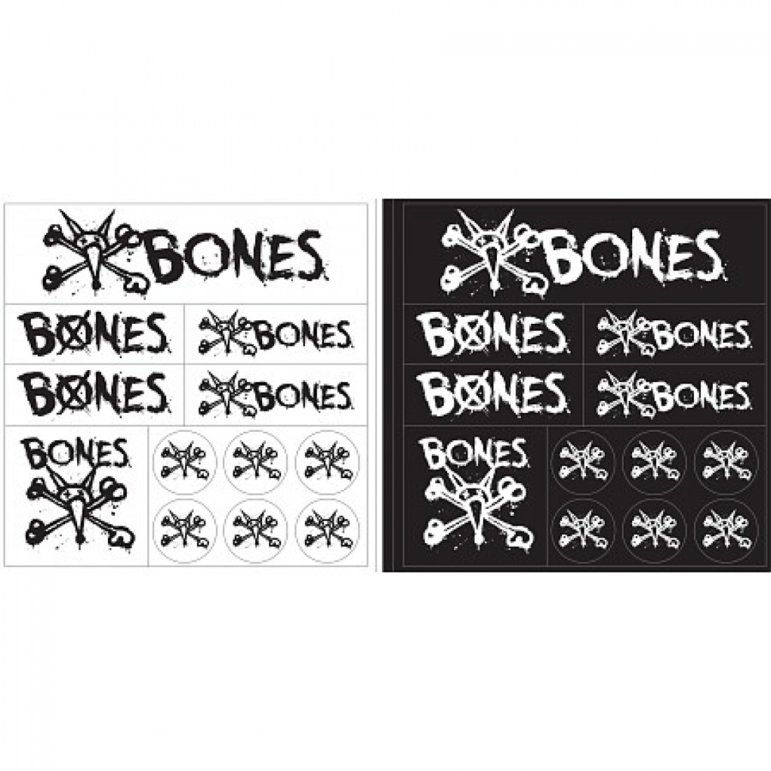 BONES WHEELS Multi Pack Sticker